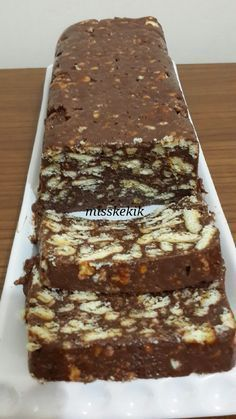 Miss Kekik: Mozaik pasta tarifi – Çorba Tarifleri – The Most Practical and Easy Recipes Delicious Deserts, Yummy Food, Pie Recipes, Dessert Recipes, Mousse Au Chocolat Torte, Ice Cream Deserts, Pasta Cake, Turkish Sweets, Catering