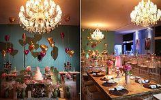 Azul Tiffany e rosa foram as cores da festa da Isadora Coimbra. Veja todos os detalhes! | Capricho