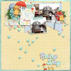 Layout using {April Showers} CCM Add-On Digital Scrapbooking Kit by Kristin Aagard Designs http://the-lilypad.com/store/digital-scrapbooking-kit-april-showers.html #digiscrap #digitalscrapbooking #kristinaagard #aprilshowers