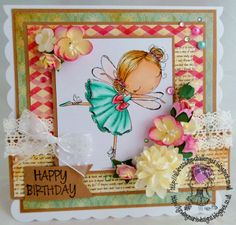 Handmade with Love, Gems and Pretty things: All Dressed Up Anything goes challenge and Birthday Blog Hop
