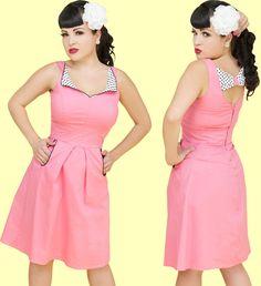 retro day dress, fashion star inspired?