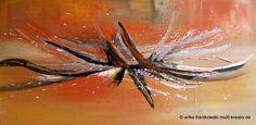 Galerie - Kategorie: Abstrakte Acrylbilder - Bild: Acrylbild Sienna Abstrakt 140x70cm