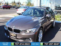 2013 BMW 3 Series 328i 4dr Sedan 34k miles $24,995 34908 miles 707-514-3622 Transmission: Automatic  #BMW #3 Series #used #cars #NinoMotors #Vallejo #CA #tapcars