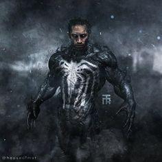 #tomhardy complete body Venom. Ipad artwork by @houseofmat / app: