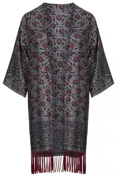 Topshop Silk Duster Kimono, £65