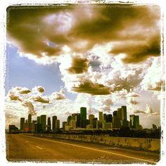 Houston before the storm #CaptureTX