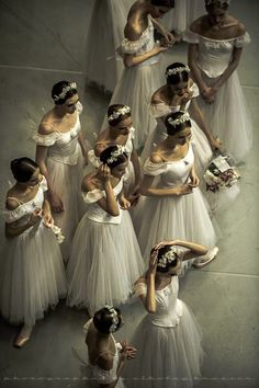 I'm in awe of ballerina's - I love the grace and elegance.