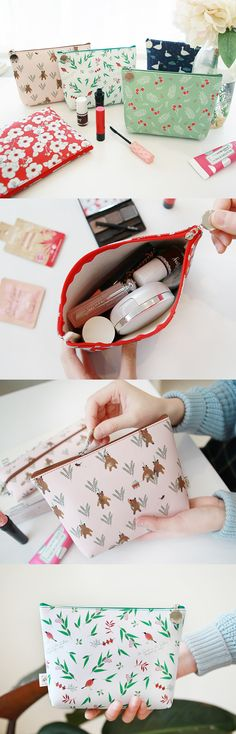 Simply beautiful and usefully sized pouch for your daily items!