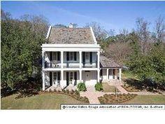 6595 Pikes Lane Baton Rouge, LA  5 beds, 4.5 baths A. Hays Town designed home