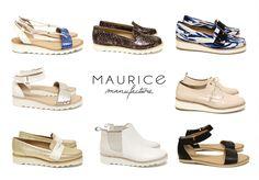 Chaussures Femme MAURICE MANUFACTURE - Printemps Eté 2015 Sandales, Slippers, Mocassins, Derbies, Richelieux, Boots