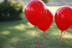 #red #balloons