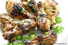Honey Jalapeño Grilled Chicken Recipe | http://shewearsmanyhats.com/honey-jalapeno-grilled-chicken-recipe/