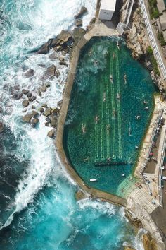 Bronte swimming pool, Sydney, Australia