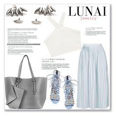 """Lunai Jewerly 15/I"" by amra-mak ❤ liked on Polyvore featuring Topshop, BCBGMAXAZRIA, Steve Madden and lunaijewerly"