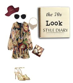 """70s Look"" by q-griffin on Polyvore featuring Valentino, Chloé, Una-Home and Bebe"