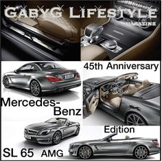 Mercedes-Benz SL 65 AMG- 45th Anniversary Edition, created by gabyg on Polyvore