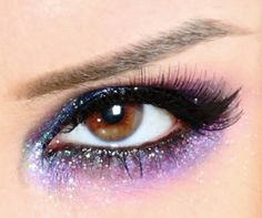 I will always love eye make-up :D