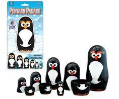 Penguin Parade Nesting Toy at theBIGzoo.com