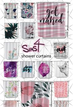 Downloaded Sims Four 4 Mm Shower Curtains Kitchen
