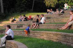 UWRF Amphitheatre summer concerts