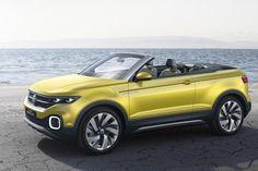 Volkswagen T-Cross Breeze Concept  - Volkswagen T-Cross Breeze Concept