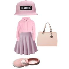 Polyvore Outfit ~ Pink