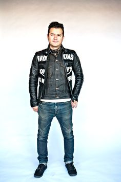 Eddie in his Bud Ekins leather jacket by Vanson for Johnson Motors, and his Blueline Slim fit Selvedge jean.  www.johnsonmotorsinc.com