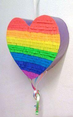 27th Birthday, Rainbow Birthday Party, Birthday Parties, Birthday Ideas, How To Make Pinata, Care Bear Birthday, Little Pony Party, Ideas Para Fiestas, Fiesta Party