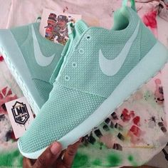 30f5e7827f6e cheap Nike Roshe Run Tiffany Blue White new running shoes 2015