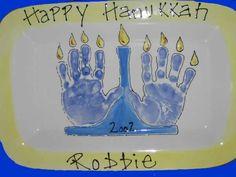 Hanukkah plate