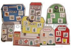 Třídíme odpad Market Research, Earth Day, Kindergarten, Montessori, Recycling, Preschool, Diy Crafts, Science, Marketing