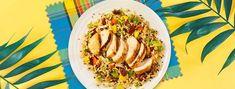 Recette | Filets de poulet à la créole, riz sauvage avec Knorr ®