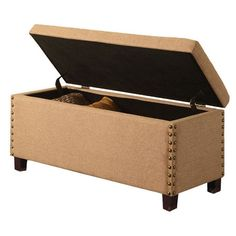 Modus Brownstone Storage Bench  Great bench only 136!