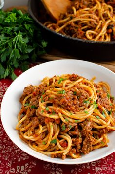 Enjoy a delicious bowl of this homemade low syn Rich Spaghetti bolognese - a firm family favourite. Gluten Free, Dairy Free, Slimming World and Weight Watcher friendly