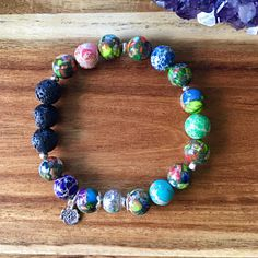 Gemstone, diffuser bracelet, aromatherapy jewellery, hill tribe silver bracelet, handmade in australia, nurture crystals.