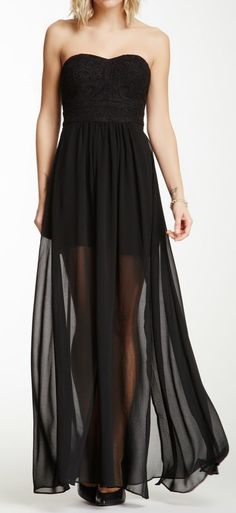 Sheer maxi..... LOVE everything about it!!