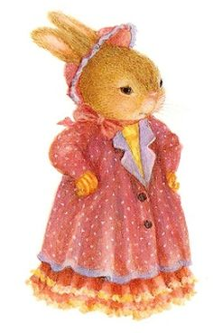 Miss Bunny de Susan Wheeler Beatrix Potter, Susan Wheeler, Bunny Art, Cute Bunny, Bunny Painting, Rabbit Art, Children's Book Illustration, Whimsical Art, Illustrators