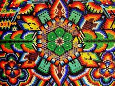 Arte Huichol, para mi gusto, el más hermoso!