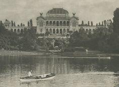 Image result for PODUL DIN parcul carol 1906 Bucharest, Romania, Taj Mahal, Painting, Travel, Image, Viajes, Painting Art, Paintings