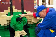 A New Lego Store and a Real Master Builder –