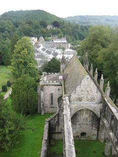 view from the bell tower , Dunkeld Cathedral, Dunkeld Scotland
