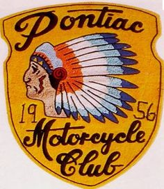 """haha, no real live """"Thrift Scores"""" here lately, so you'll have to settle for some super-Cool Vintage Jacket Patches from pas. Vintage Labels, Vintage Signs, Vintage Ads, Vintage Prints, Vintage Style, Motorcycle Patches, Motorcycle Logo, Motorcycle Clubs, Biker Clubs"""