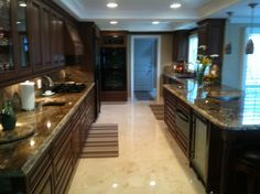 Some people don't care for galley kitchens.  I think they're neat!!