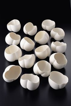 Young Japanese ceramic artist Ryouta Aoki is know mostly for producing exquisite white ceramic ware.