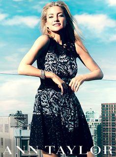 Kate Hudson Designs Collection for Ann Taylor - UsMagazine.com