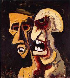 Karl Hofer -In de jaren dertig werd het werk van Hofer door de nazi's bestempeld als 'Entartete Kunst'. Na de Tweede Wereldoorlog groeide hij uit tot een van de toonaangevende figuren in de Duitse kunstwereld. Hij werd directeur van de Universiteit van de Kunsten in Berlijn en schreef toonaangevende werken over abstracte kunst.