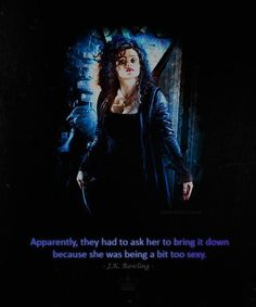 How can you expect Helena to play an evil witch and not be sexy?! c'mon now