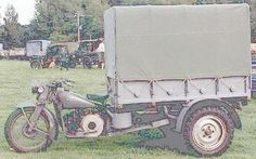 Moto Guzzi U motocarro (Unificato Militaire), 1942-1945, 498cc, 2981 built