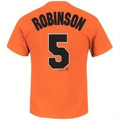 FREE U.S. Shipping! NWT! MLB Orioles B.Robinson Replica Jersey Shirt! Adult XL #MajesticCooperstownCollection #BaltimoreOrioles