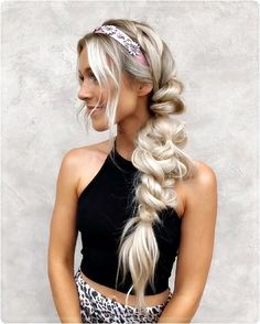 You think braided hairstyles are only for real hair professionals? Are you kidding me? Are you serious when you say that! Here you can find out how yo. Modern Hairstyles, Popular Hairstyles, Latest Hairstyles, Hair Styles 2016, Long Hair Styles, Herringbone Braid, Braided Ponytail Hairstyles, Strong Hair, Shoulder Length